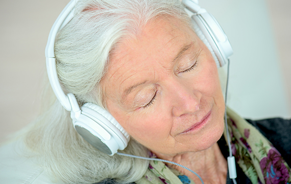 Why is music beneficial for Alzheimers?